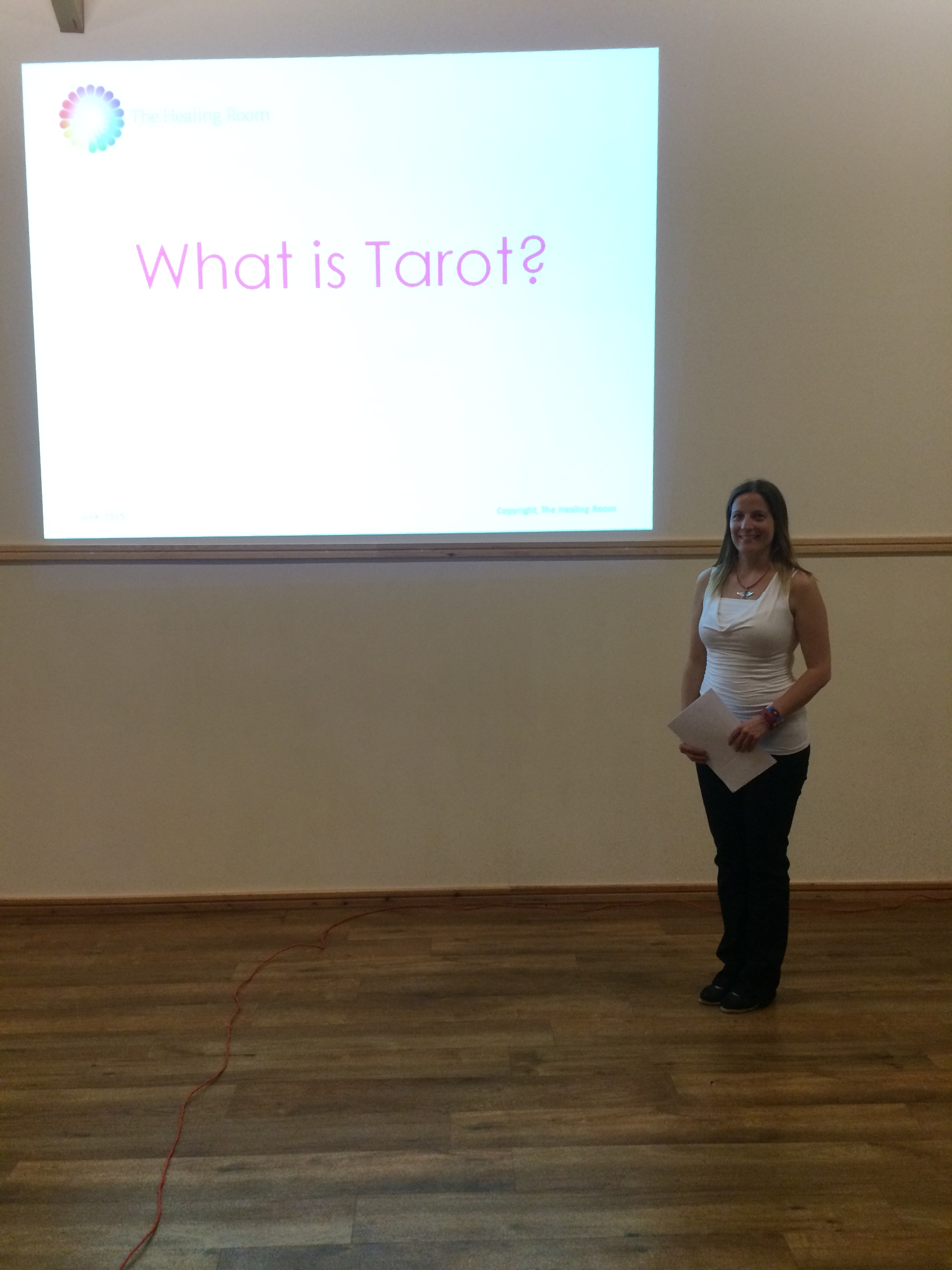 Helen Elder Tarot Workshop