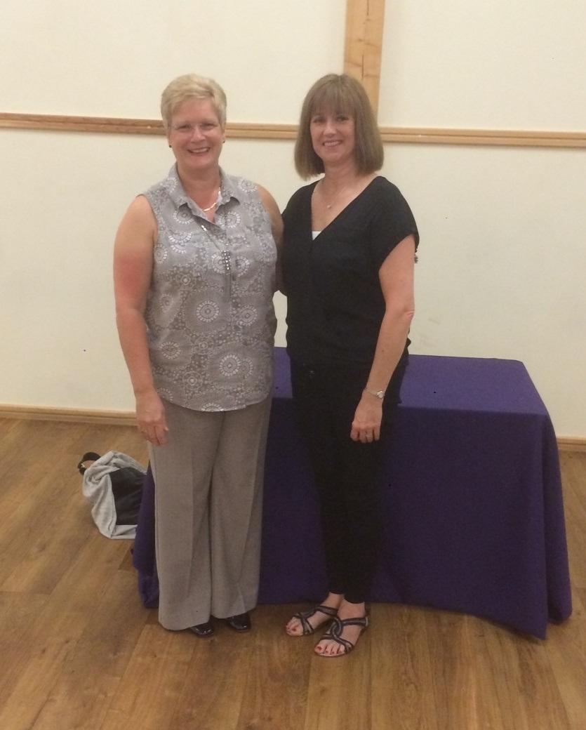 Sharon Higginson and Donna Barker Karenza Spiritual Network