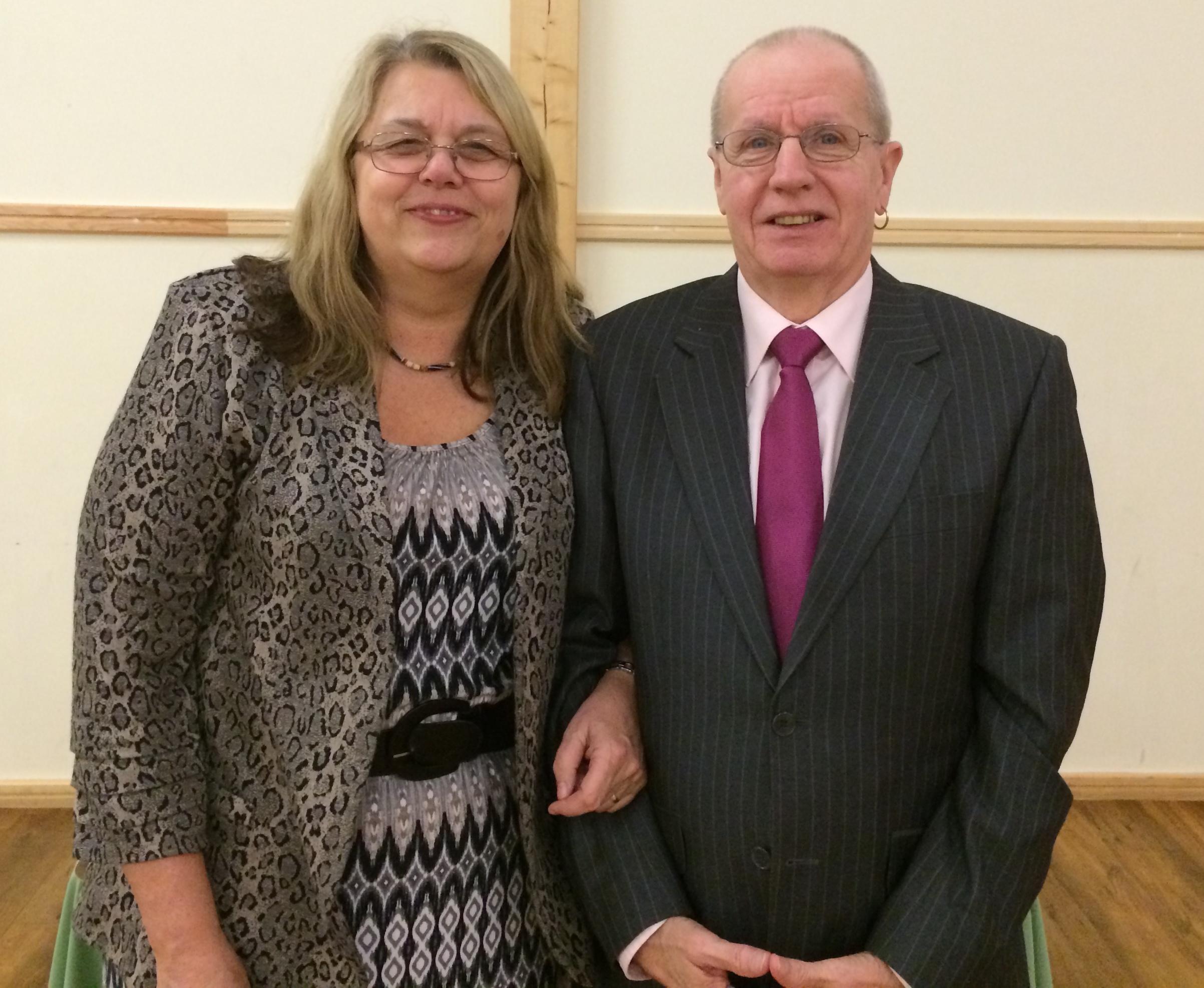 Sue and Malcolm Nash